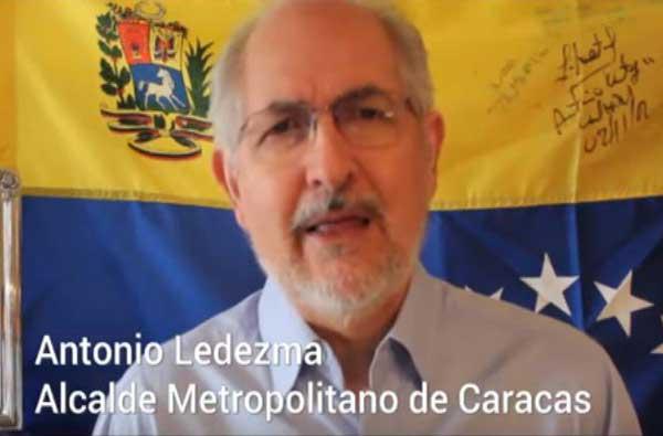 Antonio Ledezma | Foto: archivo