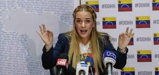 Lilian Tintori, activista de DDHH en Venezuela |EFE