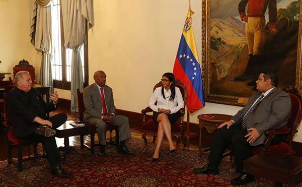 Rondón se reunión con directiva de la Constituyente |Foto cortesía