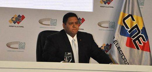 Luis Emilio Rondón, rector del CNE |Foto: La Patilla