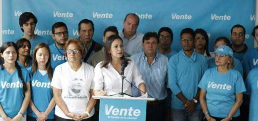 María Corina Machado | Foto: Prensa Vente Venezuela