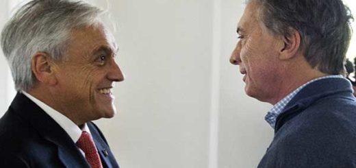 Mauricio Macri recibió a Sebastián Piñera con el eje puesto en Venezuela | Foto: @mauriciomacri