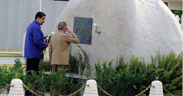 Nicolás Maduro en Cuba junto a Raúl Castro |Foto: cortesía