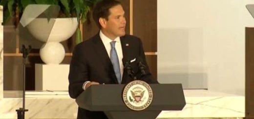 Marco Rubio, Senador de Estados Unidos | Foto: Captura de video
