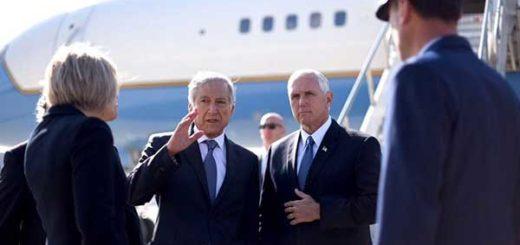 Vicepresidente de EEUU llega a Chile en gira marcada por crisis venezolana | Foto: @Minrel_Chile