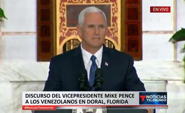 Mike Pence, vicepresidente de EEUU |Foto: La Patilla