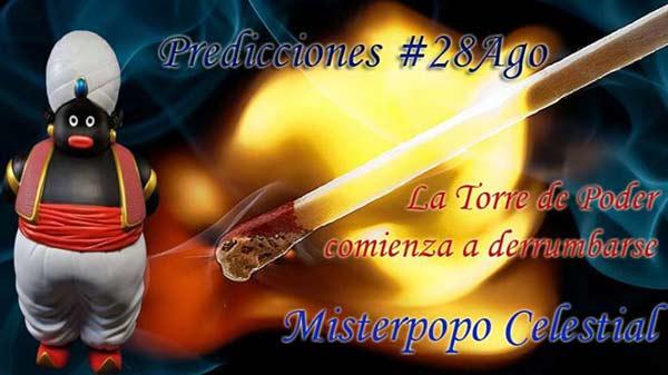 Misterpopo celestial, predicciones de #28Ago |Imagen cortesía