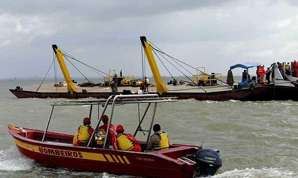Al menos 10 muertos tras naufragio en río de Brasil | Foto cortesía