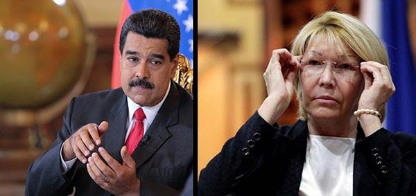 Nicolás Maduro/ Luisa Ortega Díaz |Composición: Notitotal