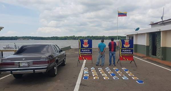 GNB incautó 31 panelas de cocaína |Foto: Diario La Verdad