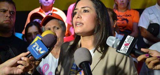 Patricia de Ceballos oficializó su candidatura a la gobernación de Táchira | Foto: @VoluntadPopular