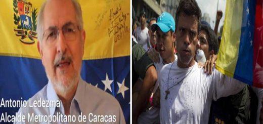 Oposición y abogados niegan supuesto plan de fuga de López y Ledezma   Foto: Composición Notitotal