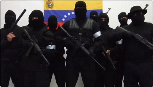 El contundente mensaje que envió grupo armado Pro Resistencia | Foto: Captura de video