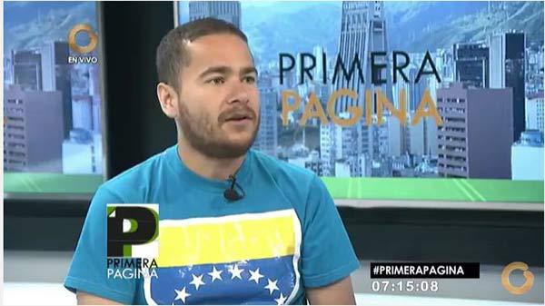 Ricardo Sánchez, Constituyente | Foto: Captura de video