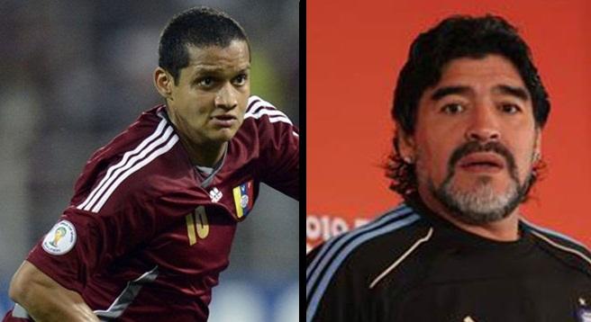 Roberto Rosales responde a Maradona |Composición: Notitotal