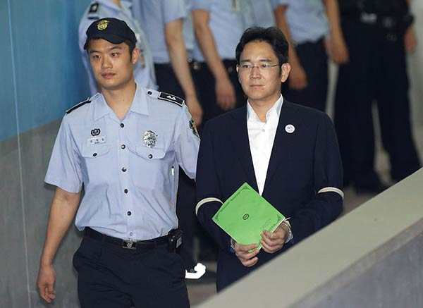 Heredero de Samsung, Lee Jae-Yong |Foto: Reuters