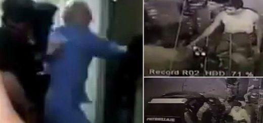 Cámaras de seguridad registraron el secuestro de ambos políticos |Foto: La Patilla