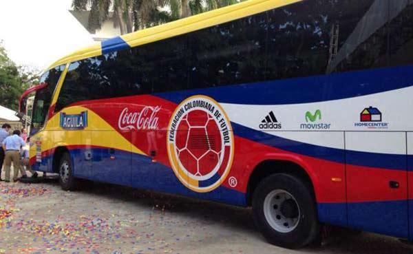 Selección de Colombia viajará por tierra a Venezuela |Foto cortesía