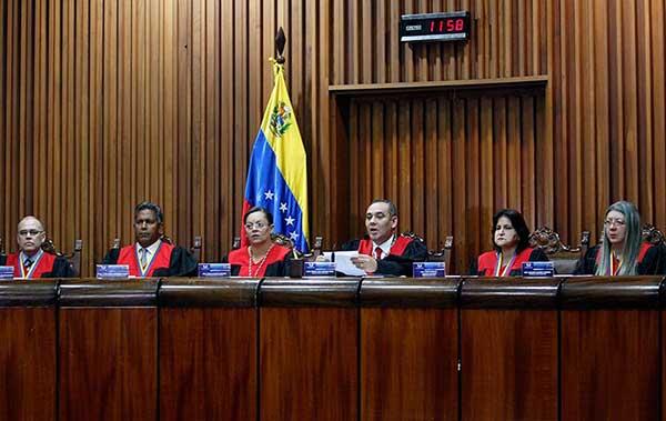 TSJ rechaza sanciones de EEUU contra el presidente Nicolás Maduro | Foto: @TSJ_Venezuela