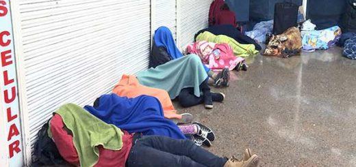 Terminal de Bogotá, un refugio para los venezolanos que huyen de la crisis madurista | Foto cortesía