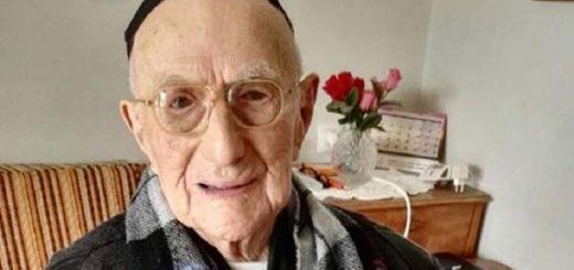 Ysrael Kristal, el hombre más viejo del mundo |Foto: AFP