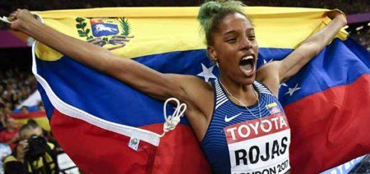 Yulimar Rojas destrona a la colombiana Caterine Ibargüen, campeona mundial de triple salto | Foto: BBC Mundo