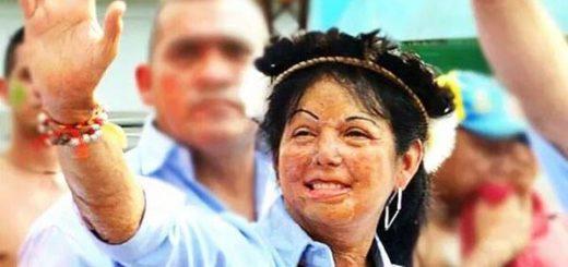 Adriana González, alcaldesa de Atures |Foto: Nota de prensa