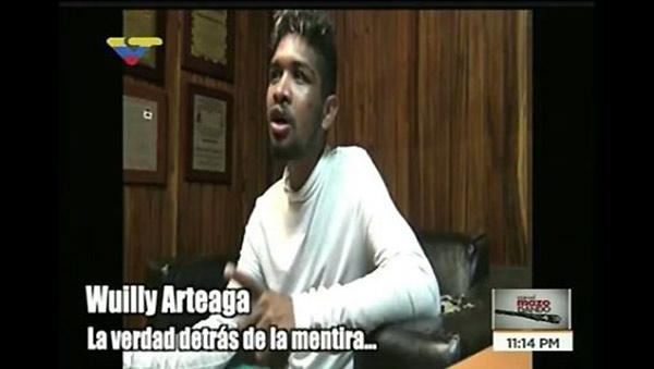 Wuilly Arteaga | Foto: captura de video