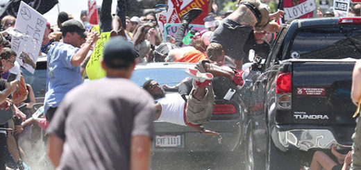 Vehículo enviste a manifestantes en Charlottesville | Foto: Agencias