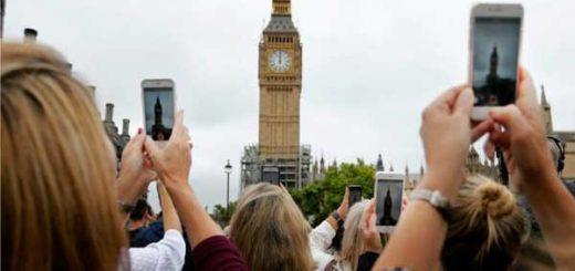 El Big Ben tocó sus últimas campanadas antes de iniciar 4 años de silencio | Foto: AP