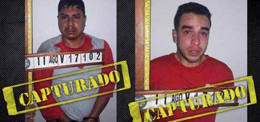 Detenido Capitán Juan Caguaripano y otro oficial | Foto: @NestorReverol