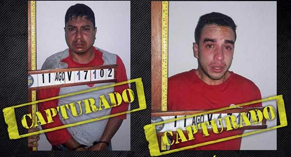 Detenido Capitán Juan Caguaripano y otro oficial   Foto: @NestorReverol