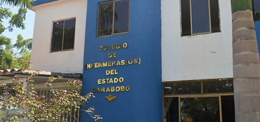 Colegio de Enfermeros de Carabobo | Foto: Globovisión