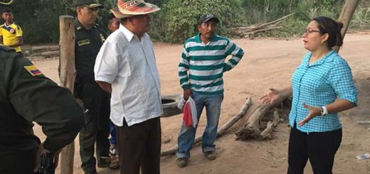 Gobernador colombiano denuncio robo por parte de la GNB   Foto: Twitter