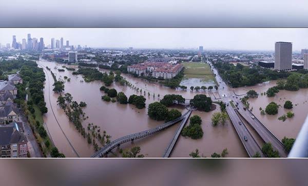 Houston no sale de su sorpresa por la peor inundación de su historia   Foto: Cortesía