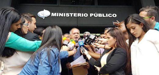 Diosdado Cabello en el Ministerio Público | Foto: El Universal