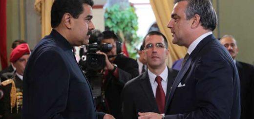 Embajador de España en Venezuela presenta credenciales a Nicolás Maduro | Foto: @PresidencialVen