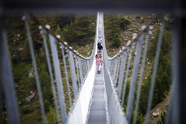 Europabrücke es el puente colgante más largo del mundo |Foto: AP