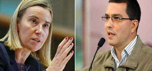Jorge Arreaza rechazó las declaraciones de Federica Mogherini sobre la ANC | Composición