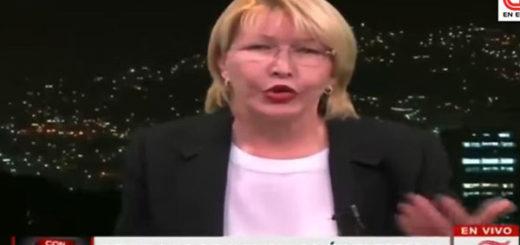 Fiscal General de la República, Luisa Ortega Díaz | Foto: Captura de video