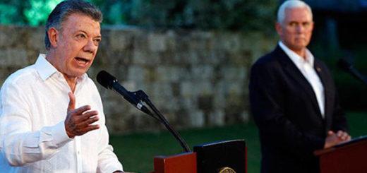 Presidente Santos planteó a EEUU desechar una opción militar en Venezuela | Foto: Cortesía