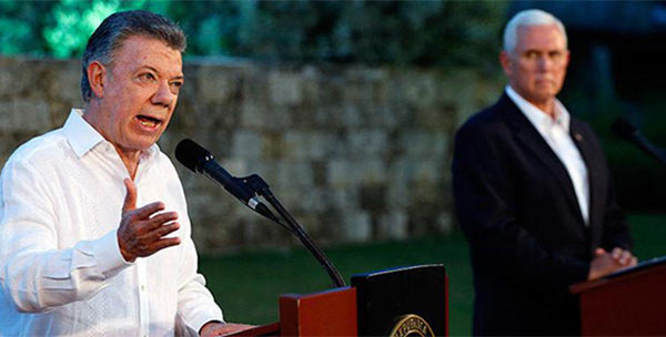 francisco-velasquez-gago-CHILE--Juan-Manuel-Santos-pide-a-Mike-Pence-que-EE-UU--descarte-una-intervenci-n-militar-en-Venezuela