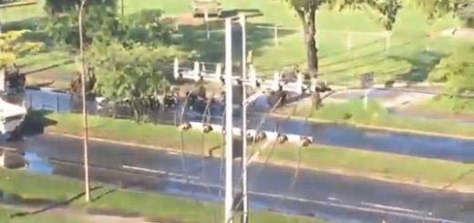 Situación irregular en el Fuerte Paramacay | Foto: captura de video