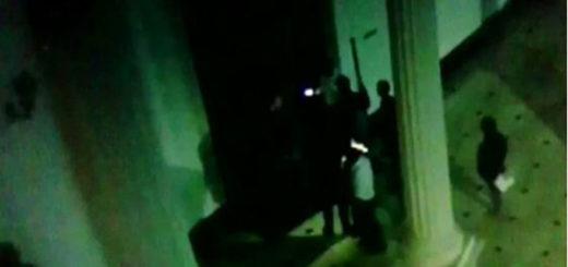 GNB irrumpe en el Salón Elíptico | Foto: captura de video