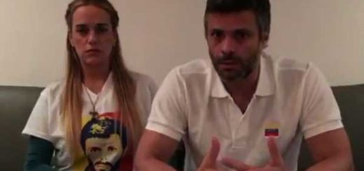 Leopoldo López junto a Lilian Tintori | Captura de video