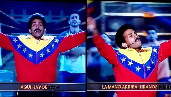 Parodia de Nicolás Maduro   Captura de video
