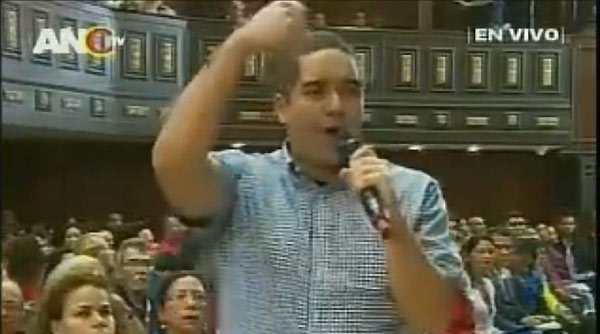 Nicolás Maduro Guerra | Foto: Captura de video