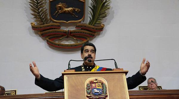Nicolás Maduro | Foto: @DrodriguezVen