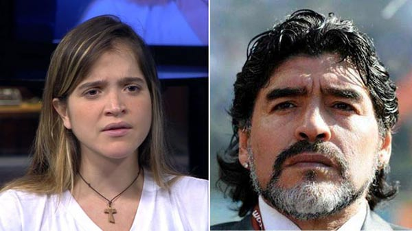 Hija de Ledezma responde a Maradona | Composición Notitotal