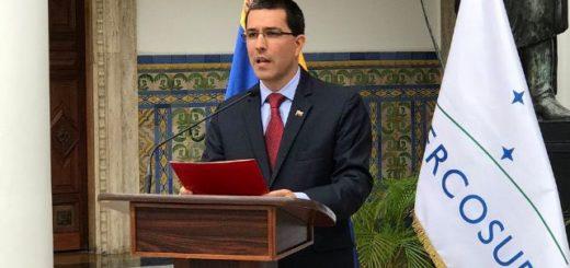 Jorge Arreaza, canciller de la República | Foto: Twitter